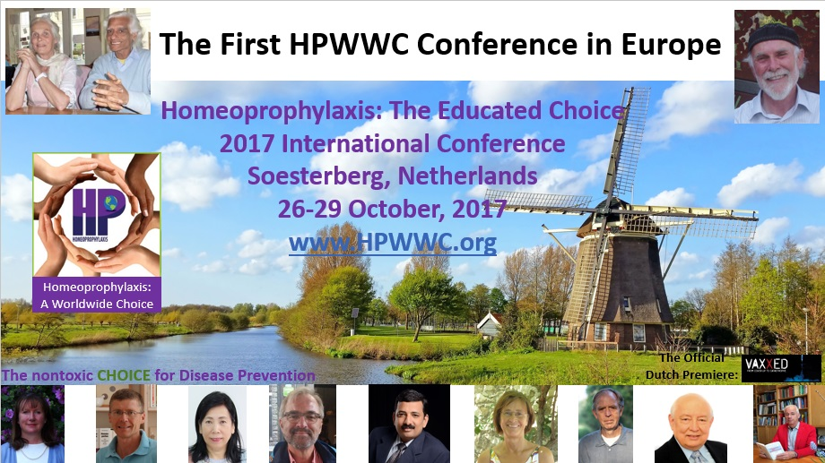 2017 HPWWC Conference Homeoprophylaxis